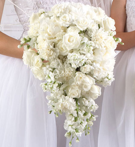 The wedding collections white wedding flowers for White flower arrangements for weddings