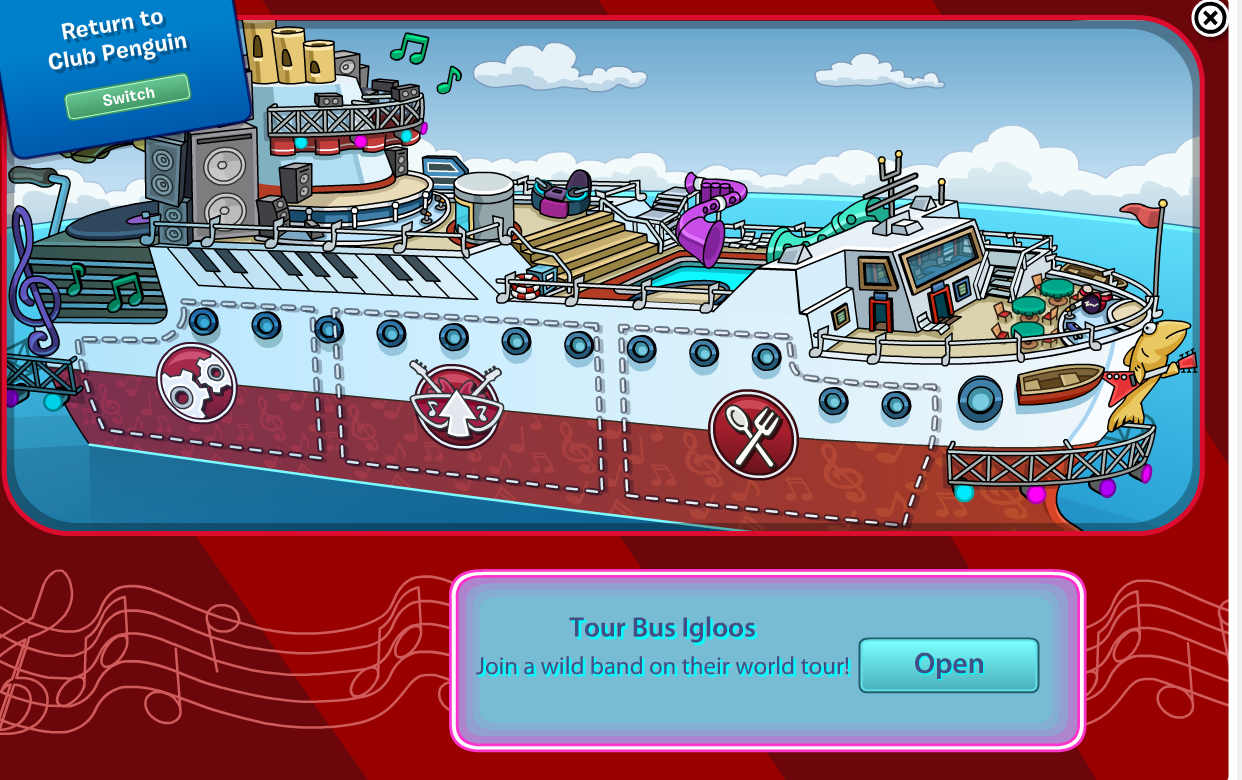 Club Penguin Music Jam 2014 Party