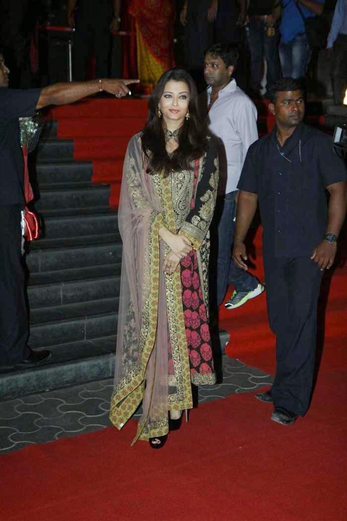 Aishwarya Rai in Designer Salwar