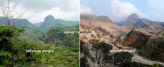 batas wisata gunung kelud sekarang