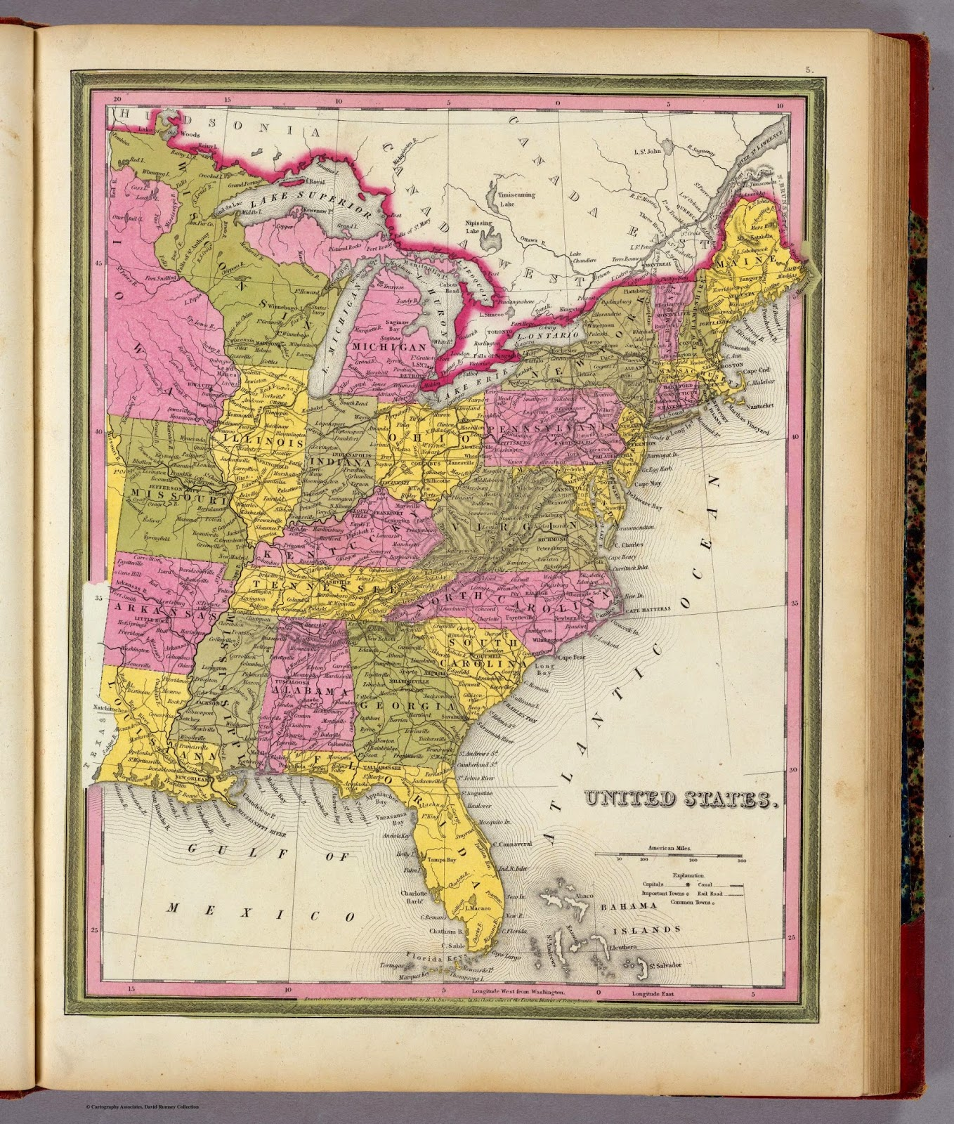 Genealogys Star Online Digital Map Collections By State - Digital maps online