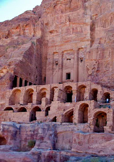 Urn Tomb Petra Jordan