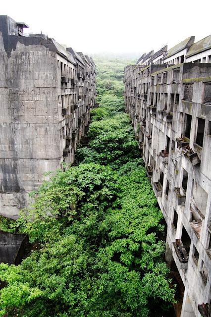 Những địa danh tuyệt đẹp bị bỏ hoang