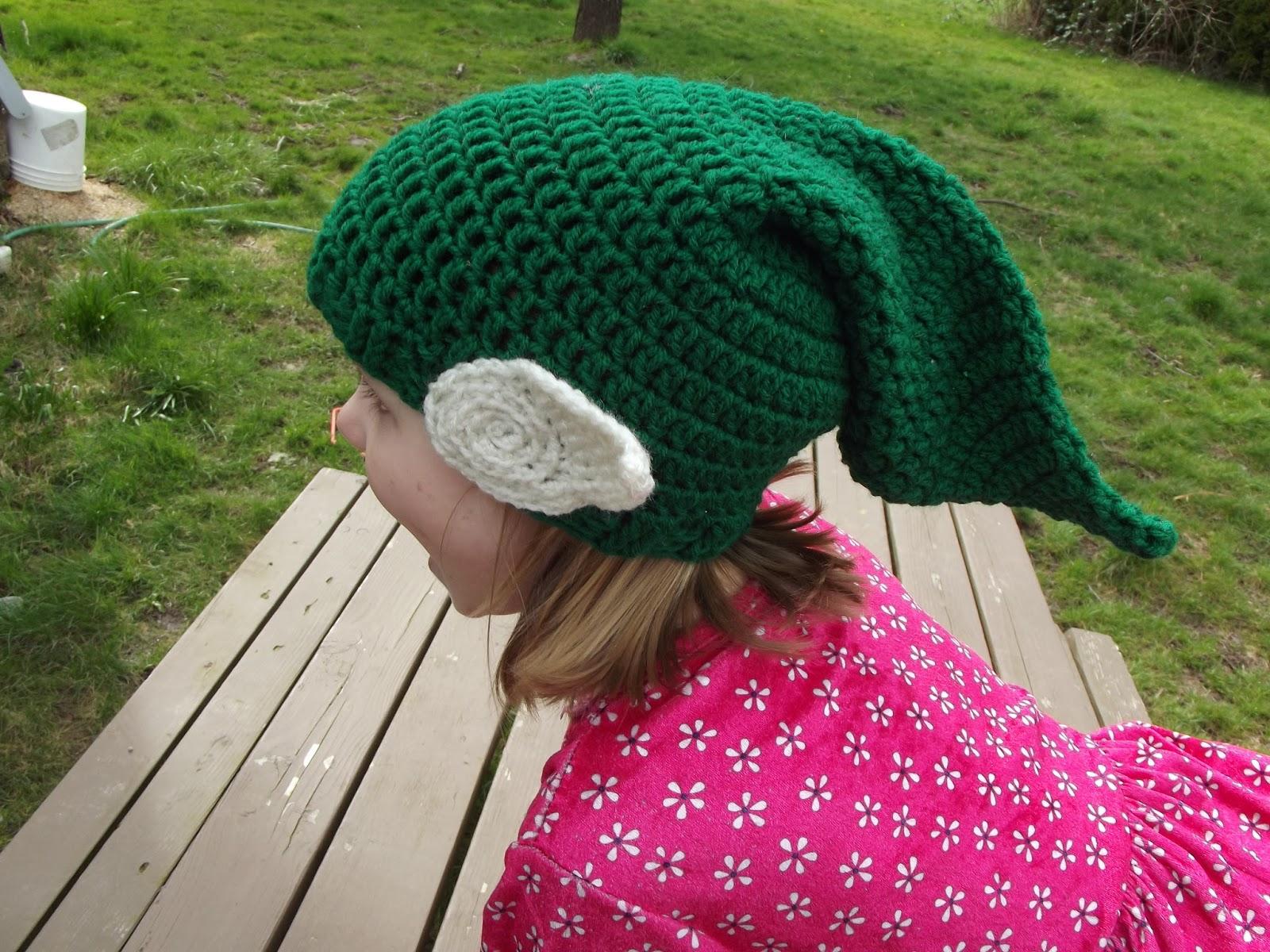 Free Crochet Elf Hat Pattern For Adults