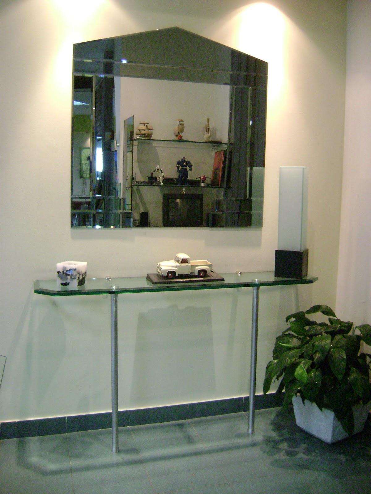 Dise o y arquitectura en vidrio espejos artesanales for Espejos artesanales