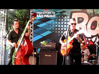 Caio Durazzo Rock´n´Roll Trio dia 8 no Saloon 79