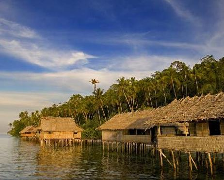 how to get to raja ampat from bali