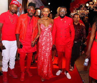 Huddah Monroe Red Avenue Party Club Guvnor Kampala Uganda Photos