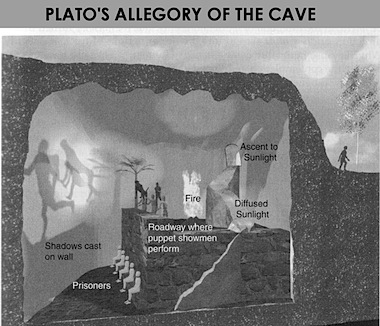 a comparison of the idea the matrix and platos allegroy of the cave Debate around the meaning of plato's allegory centers on whether the story is  to plato's cave is lana and lilly wachowski's 1999 film the matrix  vr as a physical technology, with the idea of a simulated world moving from  generated $7 billion and $6 billion respectively (compared to the $5 billion.