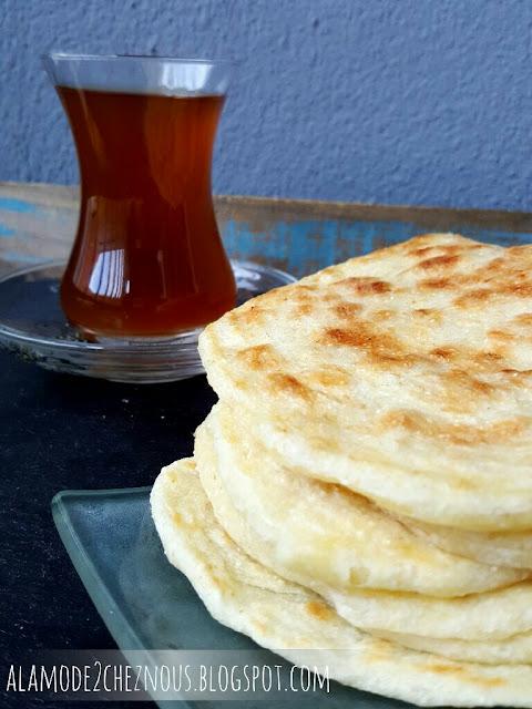 рецепт арабской лепешки с манкой