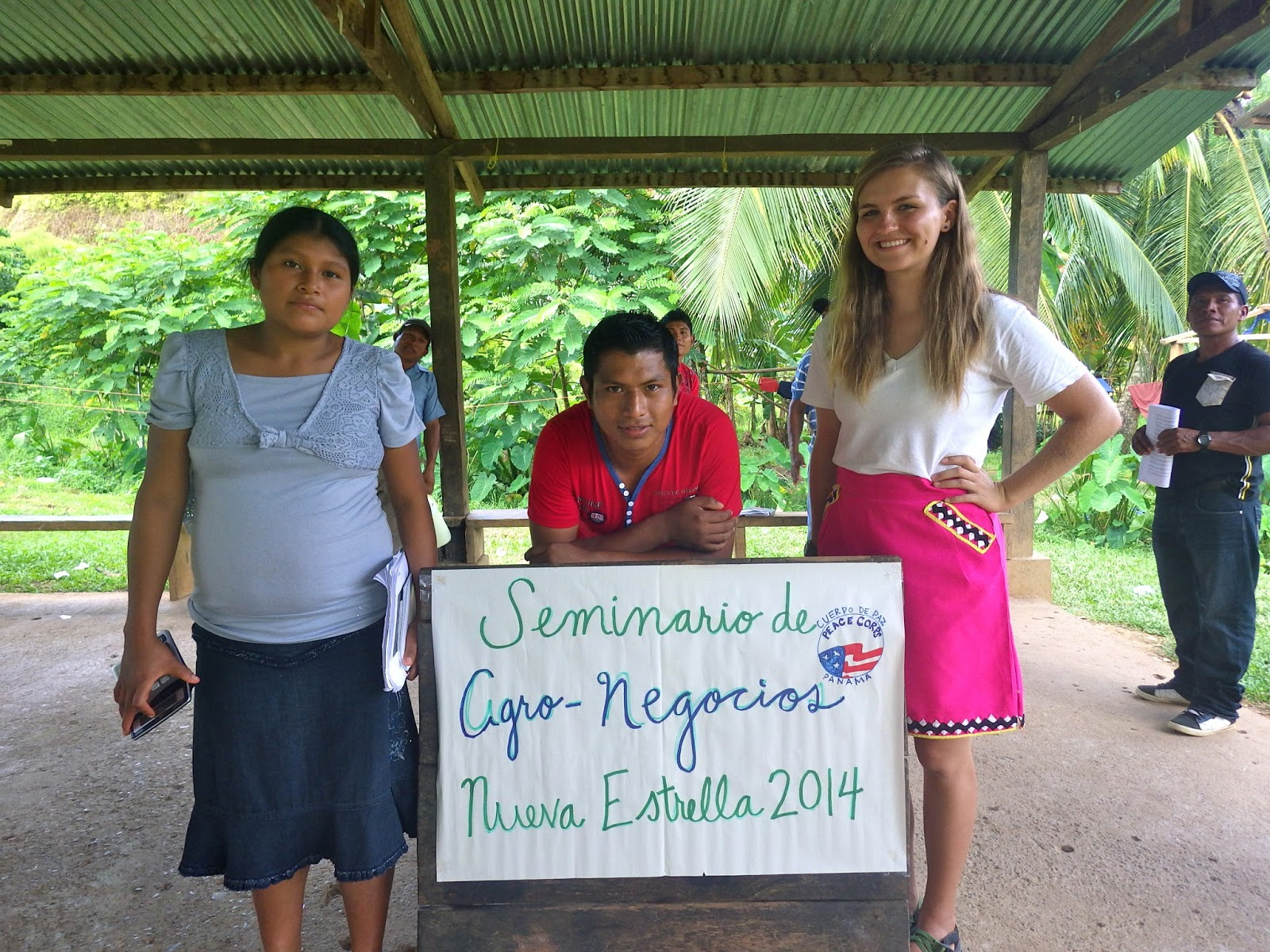 Interacting with locals as a Peace Corps Volunteer