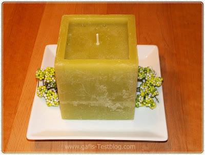 viereckige Kerze