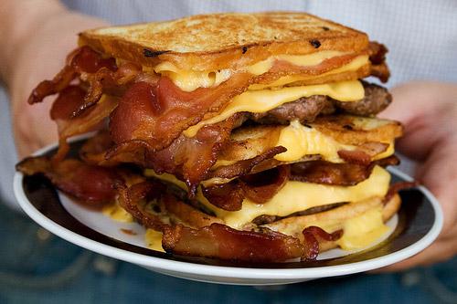 The Feral Irishman: The Hamburger Fatty Melt..... OMG!!!