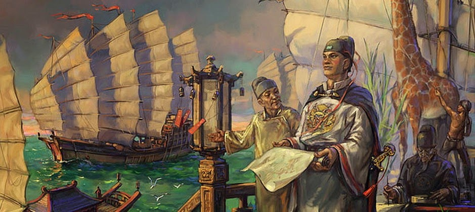 the chinese discovered america Pre-columbian trans-oceanic contact theories reenactment of a viking landing in l'anse aux meadows pre-columbian trans-oceanic contact in 1882 artifacts identified at the time as chinese coins were discovered in british columbia a.