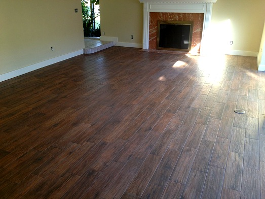 The Tile Was Florida Tile 6 24 Berkshire Hickory Grout Used Was