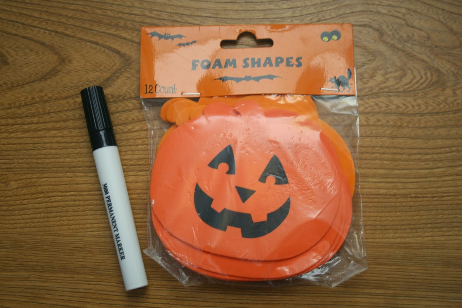 i had this pack on hand from last year you could also cut out your own shapes from regular foam sheets i have found the foam works well because it takes