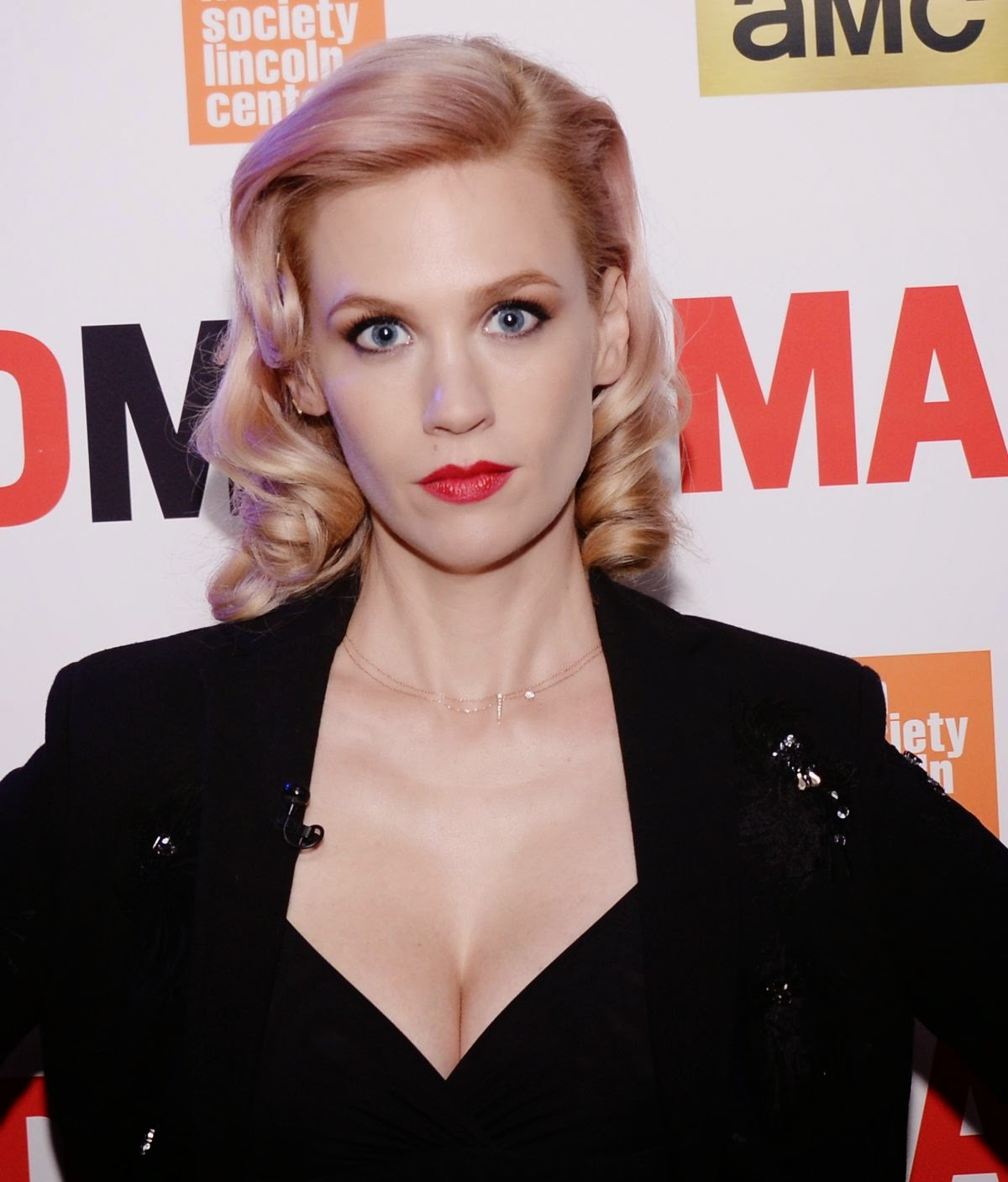 "Actress @ January Jones attend the ""Mad Men"" special screening"