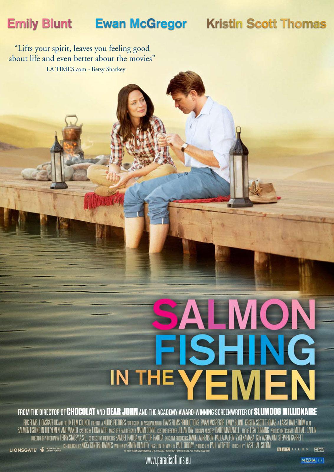 Buzzimage salmon fishing in the yemen 2011 05 for Salmon fishing in the yemen