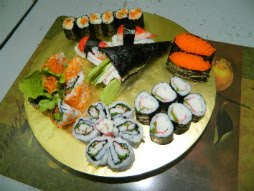 Kelas DIY Homemade Shushi -RM300 personal class , RM250 perhead for group of 2