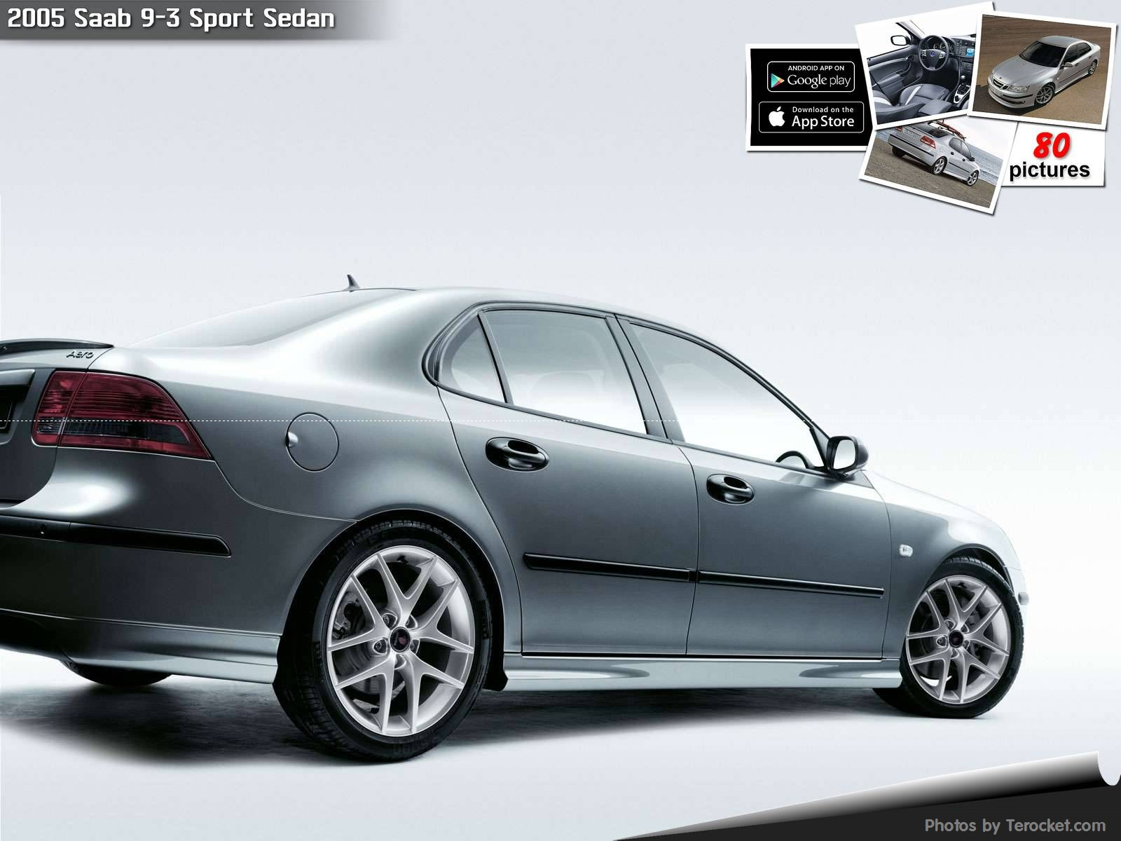 Hình ảnh xe ô tô Saab 9-3 Sport Sedan 2005 & nội ngoại thất