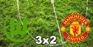 Wolfsburg 3x2 Manchester Utd