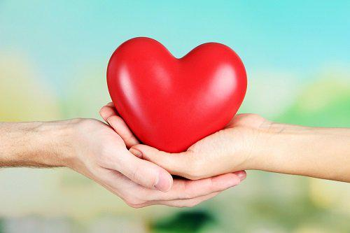 having a heart in hand #heart #hand