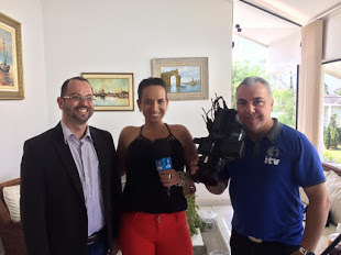 Cah Menchini entrevista Dr. Anderson Aurélio Arruda Dos Santos Terapeuta Ocupacional. Canal 24 NET