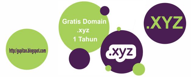 Domain .xyz Seharga Rp. 150 Ribu Gratis 1 Tahun