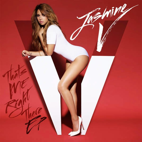 Jasmine V - That's Me Right There EP Cover