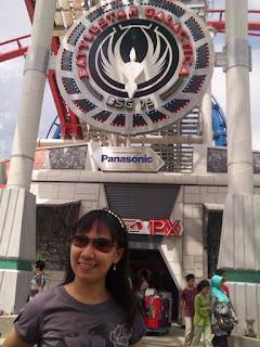 Universal Studios Singapore Battlestar Galactica