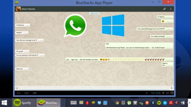 cara whatsapp di pc