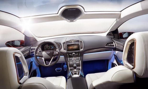 New Ford Edge Concept Revealed at L.A. Auto Show