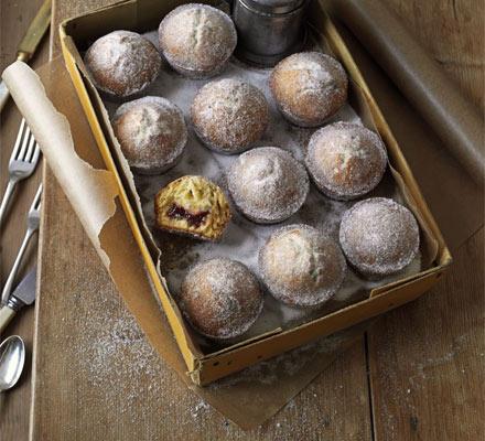 doughnut muffin recipe