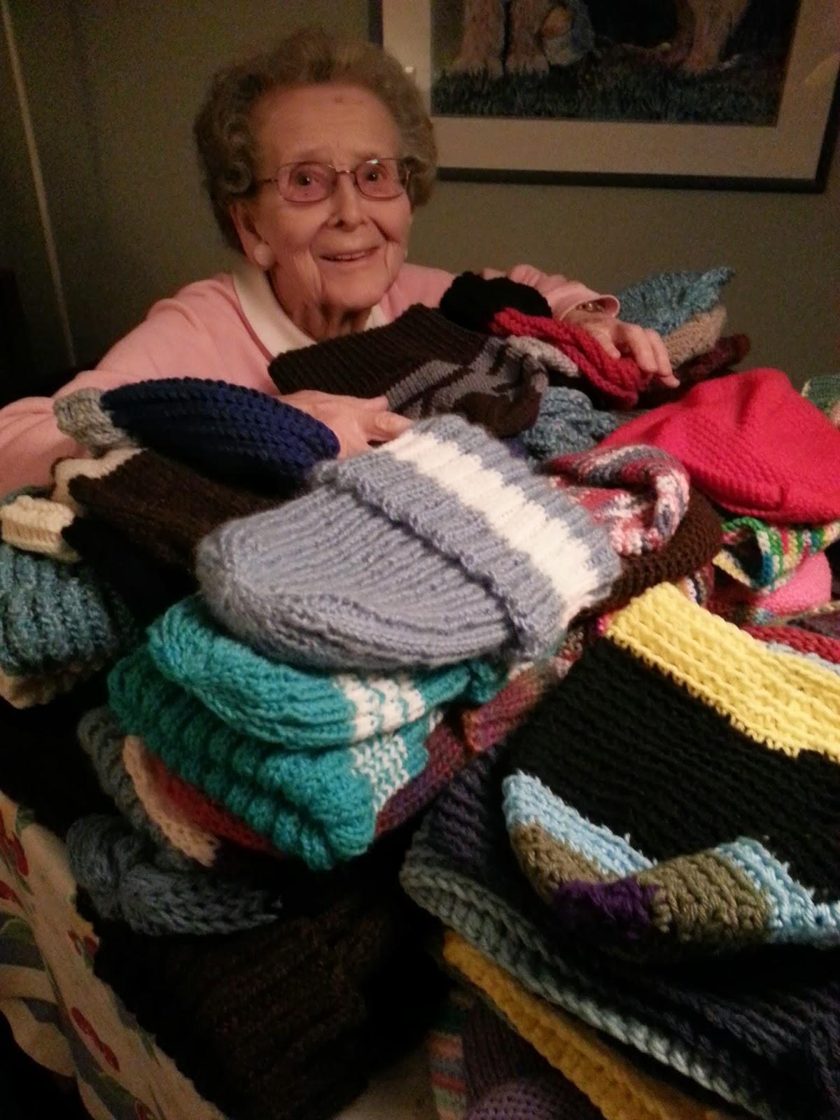 Get Knitting Grandma : Hats for the homeless knitting giving loving december