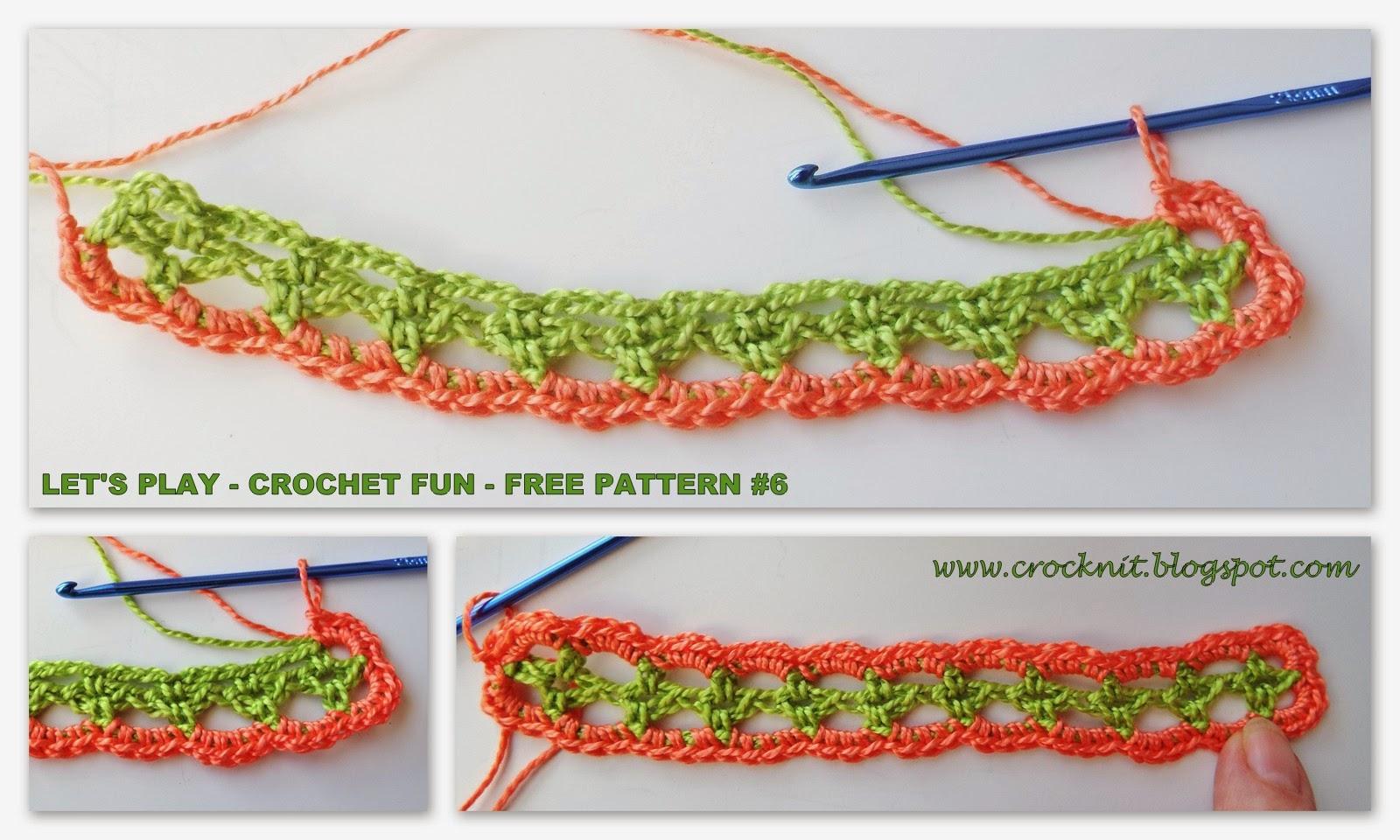 free pattern crochet bracelet cuff cotton
