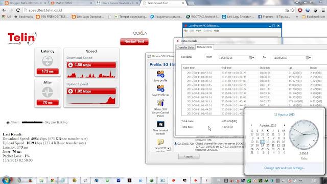 internet gratis telkomsel dengan config eproxy