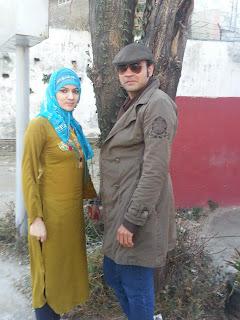 Jiya Chaudhry with atif traash