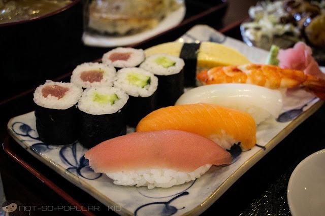 Bono Tei: Sushi Set