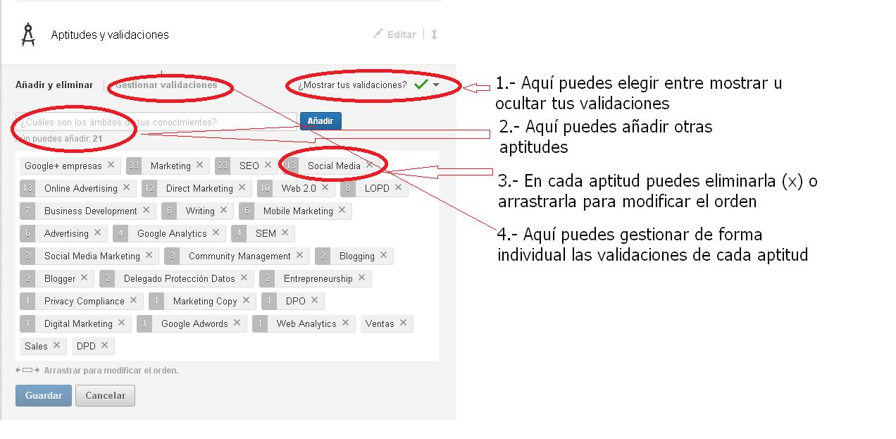 Editar Perfil LinkedIn