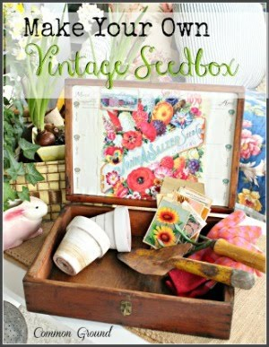 DIY Vintage Seedbox