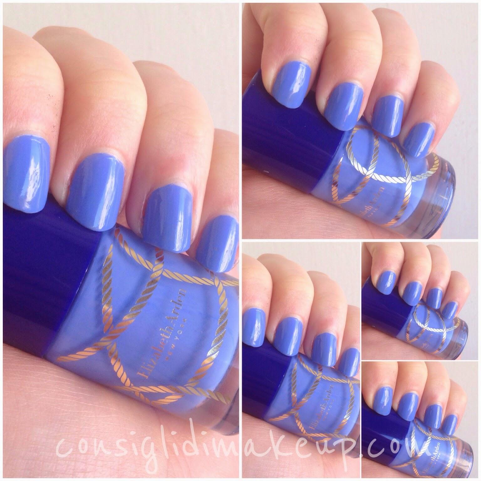 NOTD:  Beautiful Color Nail Lacquer 01 Sailor Girl LE Summer Escape - Elizabeth Arden