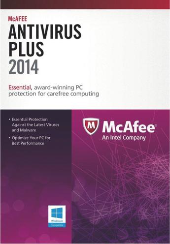 McAfee AntiVirus Plus 2014 - Скачать бесплатно