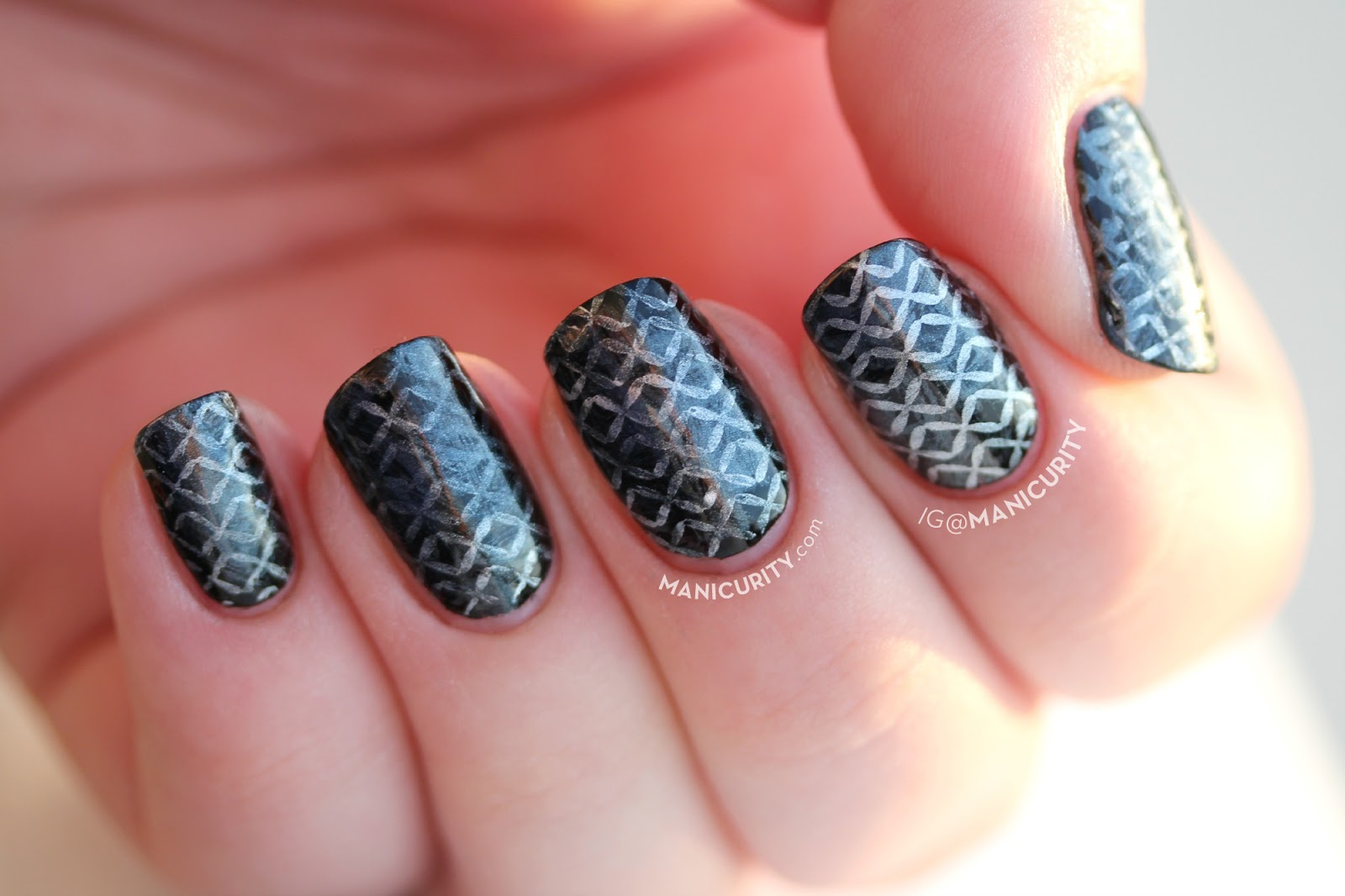 Manicurity: The Digit-al Dozen: Chain Mail Nails