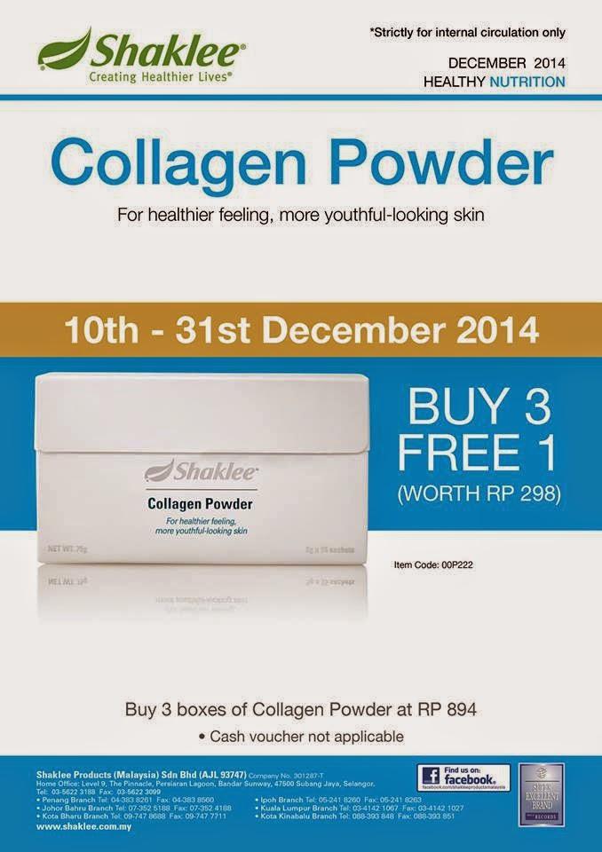 Promosi Disember Collagen Shaklee