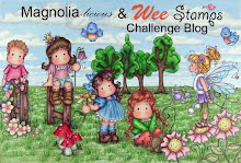 Magnolia-licious & Wee Stamps  is on Facebook!