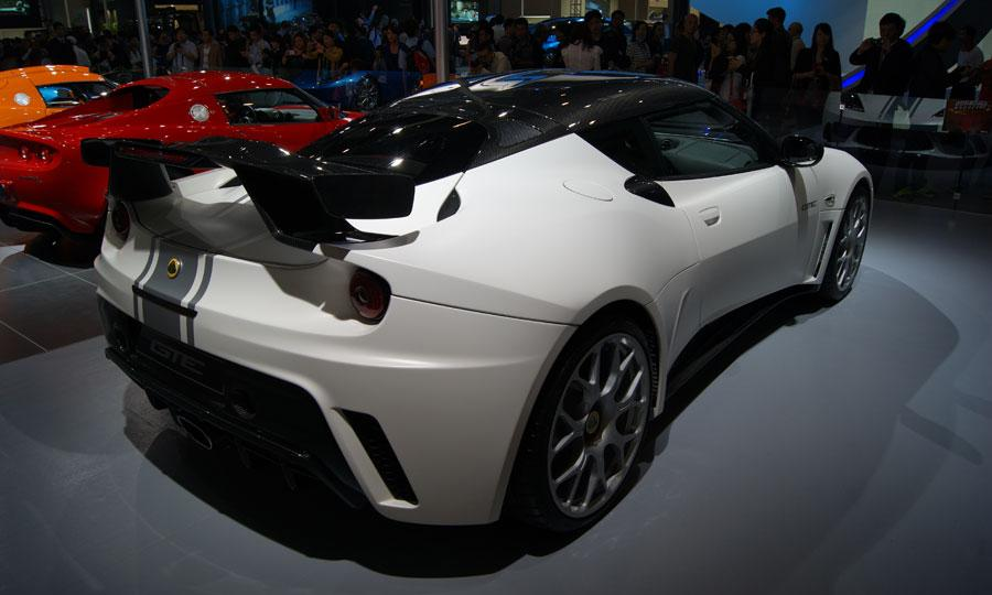 Super Sport Cars 2012 Lotus Evora Gte China Limited Edition 2012