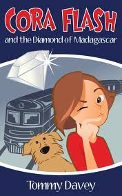 image: cora flash and the diamond of Madagascar - mystery book review