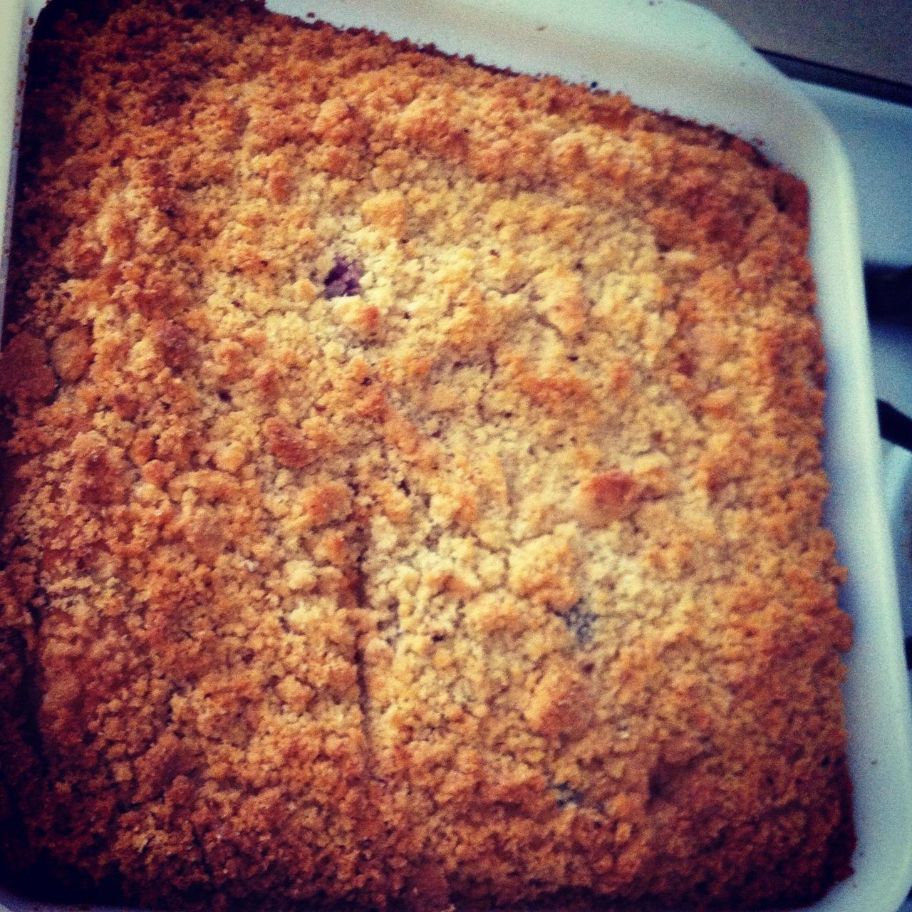 Blueberry Lemon Streusel Coffee Cake   Make it Gluten Free