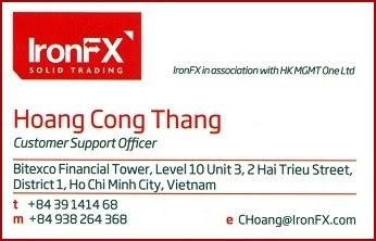 Hỗ trợ khách hàng IronFX Việt Nam