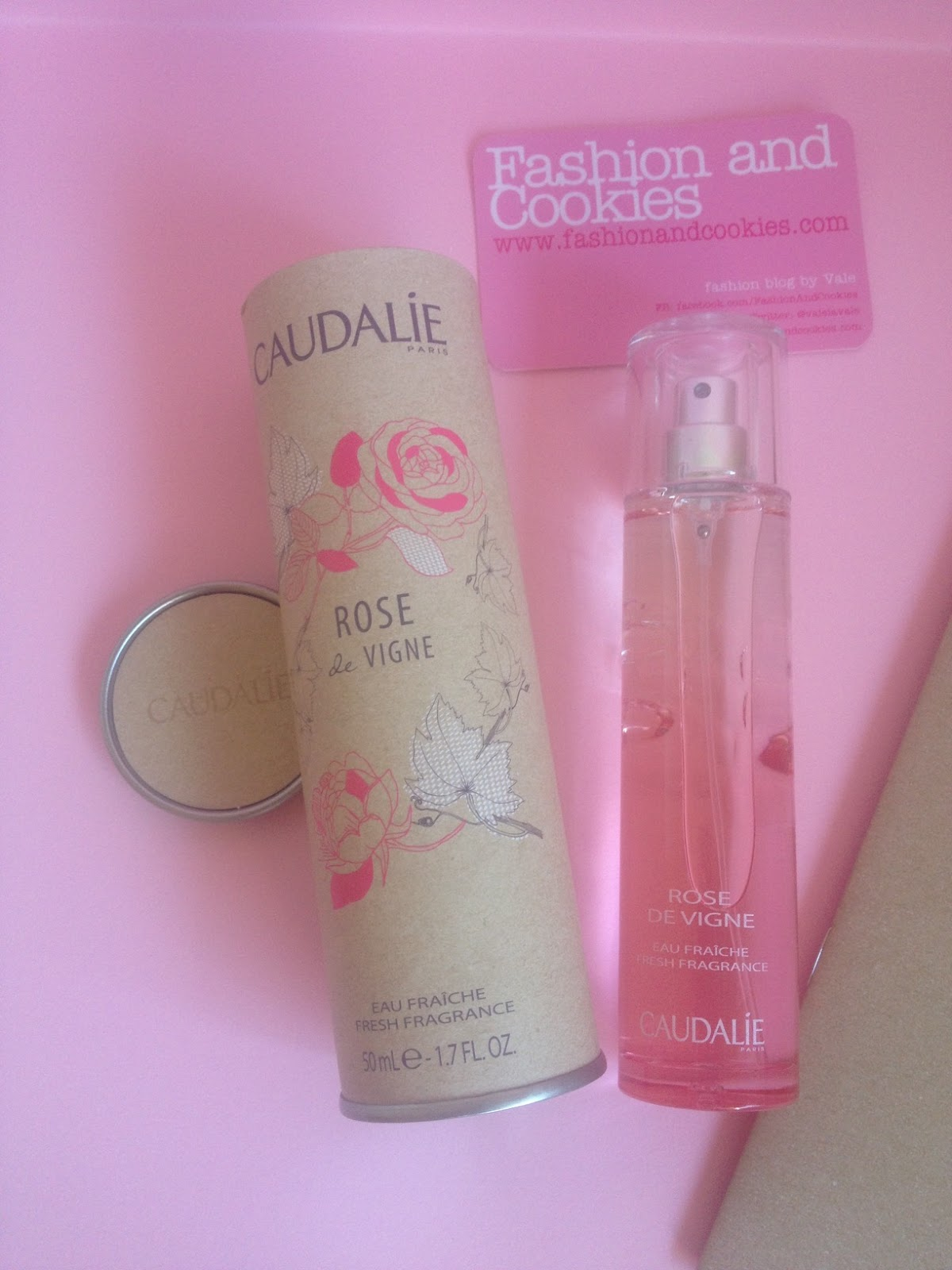 Caudalie rose de vigne on Fashion and Cookies fashion and beauty blog